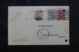 BELGIQUE - Entier Postal Commercial ( Repiquage Au Verso ) De Liège Pour La France En 1926 - L 70622 - Postales [1909-34]