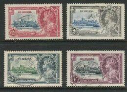 St Helena, GVR, 1935, Silver Jubilee, Used - St. Helena