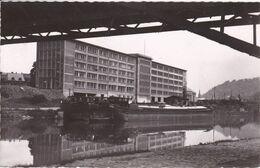 ALLEMAGNE SAARBRUCKEN Das Neue Finanzamt , Péniches à Quai ,navigation Fluviale - Saarbrücken
