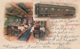 Cartolina / Postcard -  Viaggiata - Sent /  Vagone Ristorante - Gruss Aus Dem Speisewagen - Trains