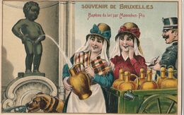 Cartolina / Postcard - Non Viaggiata - Unsent /  Souvenir De Bruxelles ( A Rilievo ) - Humor