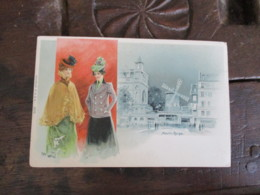 Illustrateur Abeille Femme Elegante  Moulin Rouge - Illustratori & Fotografie