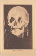 USA - 'All Is Vanity' By Charles Allen Gilbert, 1892. Optical Illusions Vintage Postcard. - Verenigde Staten