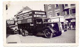 Foto Photo - Vrachtwagen Camion Messageries Renvillard Bruxelles - Charleroi - Auto's