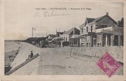 Chatelaillon : Boulevard De La Plage (Voyagé) - Châtelaillon-Plage