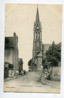 45 DOUCHY  Villageois Rue Eglise Le Clocher Edit Vincent - 1910    D14 2020 - Andere Gemeenten