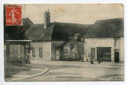 45 DOUCHY Place Du Vilage Commerces Boulangerie Et Epicerie Anim 1909 Timb  Edit Vincent       D14 2020 - Frankreich