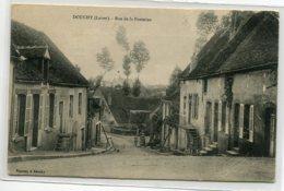 45 DOUCHY Rue De La Fontaine écrite Et Timbrée Voir Dos    D14 2020 - Frankreich