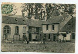 45 DOUCHY  Cour Ferme Moulin De La Forge Fermieres Poules écrite Timb 1907    D14 2020 - Frankreich