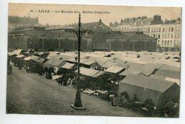 59 LILLE Le Marché Des Halles Centrales No 68 - 1910   D14 2020 - Lille