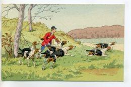CHIENS De CHASSE  à COURRE  Illustrateur Le Découplé Du Lancée    /D13-2017 - Honden