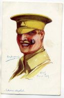 MILITARIA   Illustrateur Emile DUPUIS   Militaire Infanterie Anglaise Arras Fevrier 1915 - Nos Alliés Num 9   /D14-2017 - Oorlog 1914-18