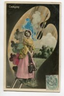 ARTISTE 1131 Natalina Lina CAVALIERI  La Palette Du Peintre 14-61 Photog Reutlinger - Opera