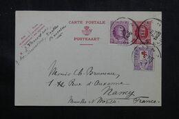 BELGIQUE - Entier Postal + Compléments De Ixelles Pour La France En 1926 - L 70644 - Postales [1909-34]