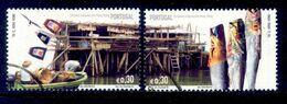 ! ! Portugal - 2005 Fishing Villages - Af. 3330 & 3331 - Used - Usati