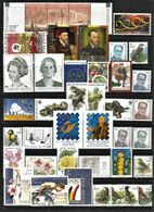 BELGIUM  2000 Full Years Set  (stamps+s/s/+bookl.) - Años Completos