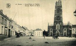 Boom - Grand'Place Et L'Eglise.  ANTWERPEN ANVERS // Bélgica Belgique - Sonstige