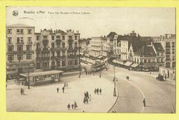 * Knokke - Knocke (Kust - Littoral) * (Nels, Série 17, Nr 113) Place Van Bunnen Et Avenue Lippens, Tram, Cecil Hotel - Knokke