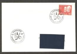 Sweden 1967 Varberg - Chess Cancel On Envelope, Traveled - Scacchi