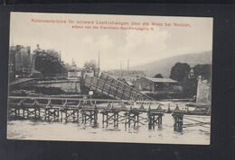 Frankreich France Kolonnenbrücke über Die Maas Bei Nouzon - Frankrijk