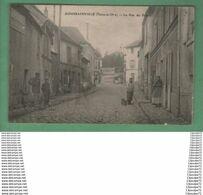 C.P.A  DE  GOUSSAINVILLE ( SEINE - ET - OISE ) ---- LA RUE DU BASSIN  .-------.   AMINEE ---- - Goussainville