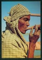 BIRMANIE / CULTURE - Paysan Fumant Feuille De Mais Roulée / Fumeur - Visage - Carte Postale - Asia