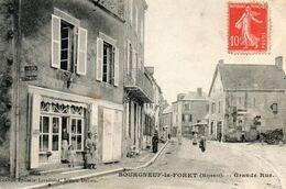 Bourneuf  La  Foret - Mayenne -   Grande  Rue. - Frankreich
