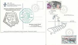 YT PA 125 Radio-amateurs - YT 225 50 Ans Des Expéditions Polaires Françaises - Briefe U. Dokumente