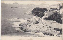 Bouches Du Rhône : MARSEILLE : La Pointe De Maldormé ( Au Dos Tampon Militaire Hopital Du Levant Et Annexe Asile ) - Marseille