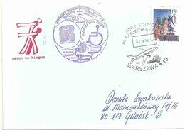 YT 3844 Gdansk - Vouyage D'une Personne Handicapé Au Spitzberg - 04/04/2004 - Lettres & Documents