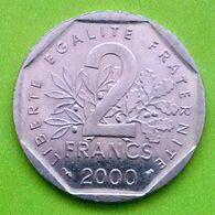 2 Francs , République Française, 2000, TTB (FV) - I. 2 Franchi
