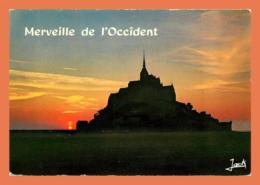 A472 / 183 50 - LE MONT SAINT MICHEL Soleil Couchant - France