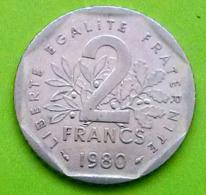 2 Francs , République Française, 1980, TB  (FV) - I. 2 Franchi
