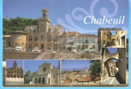 Chabeuil (Valence-Drôme)-Multivues-L'Hôtel De Ville Et Plusieurs Quartiers De La Commune-Eglise-Portes... - Valence