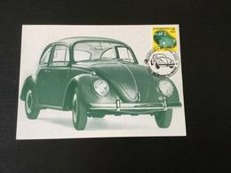 N°1488 (VW Coccinelle ) Sur CM - Cartoline Maximum