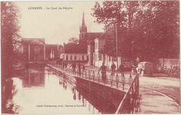 LUMBRES (62) – Le Quai Du Bléquin. Editeur Thérouanne. Voiture. - Lumbres
