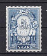 Saarland - 1953 - Michel Nr. 342 - Ungebr.m.Falz - Unused Stamps