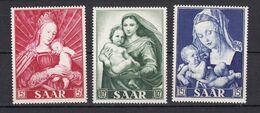 Saarland - 1954 - Michel Nr. 351/353 - Postfrisch - Unused Stamps