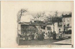 VERNET-les-BAINS, Près Prades (66) – Danses Sur La Place. - Altri Comuni