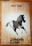 INDONESIA PRESENTATION PACK YEAR OF THE HORSE 2014 (PERF+IMPERF S/S WITH MATCHING NUMBER WICH ONLY 5000 ISSUE) - Indonesia