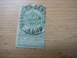 (27.08) BELGIE 1893 Nr 56 Afstempeling HEYST-OP-DEN-BERG - 1893-1907 Coat Of Arms