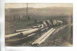 70 - Carte-photo Non Titrée, D' Un Déraillement D' Un Train Transportant Du Bois, Région De Servance, Haut-du-Them . . . - Frankreich