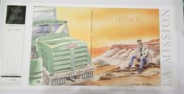 Ch. Denayer - Wayne Shelton - Jaquette Ex-libris Schrlif Book - La Mission - N°& Signé 509/600 - 2001 - Illustratoren D - F