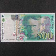 500 Francs Pierre Et Marie Curie 1996, Pr.Neuf - 1992-2000 Laatste Reeks