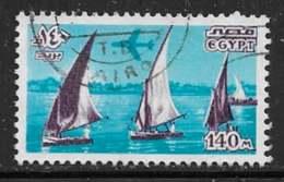 Michel 1265X - 140 M Bleu Cyan / Violet Foncé - O - Posta Aerea