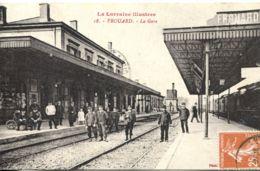N°3192 R -cpa Frouard -la Gare- - Bahnhöfe Ohne Züge