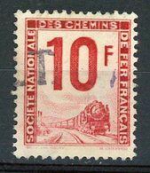 FRANCE -  COLIS POSTAUX - 10F ROSE -  Yt  N° 10 Obli. - Oblitérés