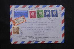 ALLEMAGNE - Enveloppe En Recommandé De L 'Ambassade De Côte D'Ivoire En 1961 Pour Le Gouvernement à Abidjan - L 70711 - Covers & Documents
