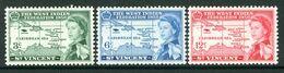 St Vincent 1958 Inauguration Of British Caribbean Federation Set MNH (SG 201-203) - St.Vincent (...-1979)