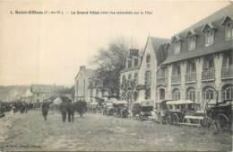 France - 22 - Plestin-Les-Grèves - Saint Efflam - Le Grand Hôtel Avec Vue Sur La Mer - Plestin-les-Greves